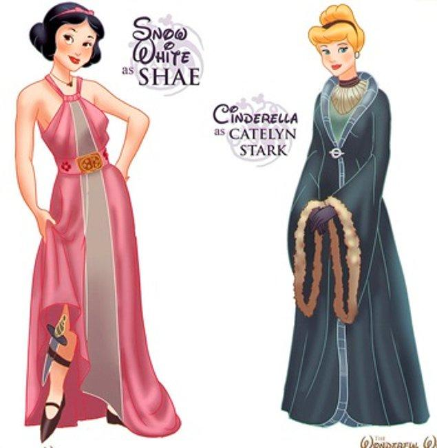 19. Pamuk Prenses - Shae ve Sindirella - Catelyn Stark