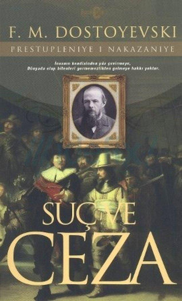 9. Suç ve Ceza – Fyodor Dostoyevsky