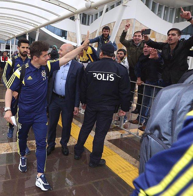 Fenerbahçe kafilesi şu isimlerden oluştu: