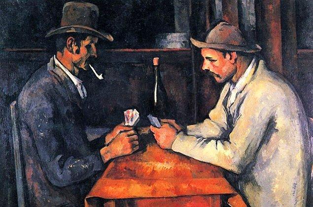 Paul Cezanne, The Card Players, 1892-93, tuval üzerine yağlı boya, 97x130 cm