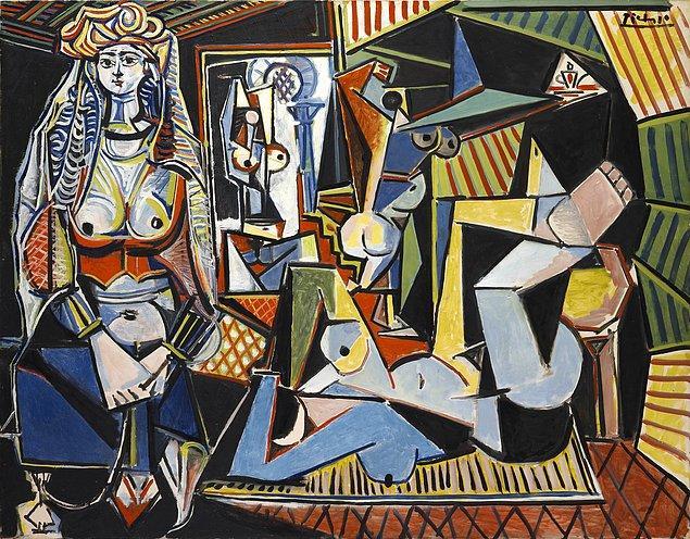 Pablo Picasso, Women of Algiers (Version O), 1955, tuval üzerine yağlı boya, 114x156 cm