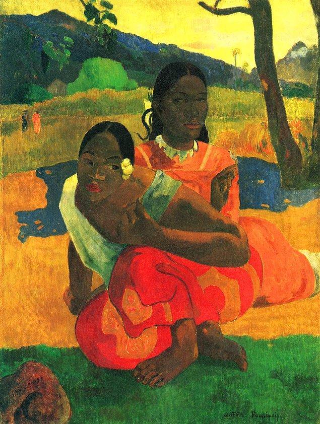 Paul Gauguin, When You Will Marry Me?, 1892, tuval üzerine yağlı boya, 101x77 cm