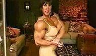 Nursel Huge Guler - kaslı türk kadın