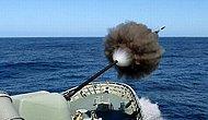 Savaş Gemilerindeki Dev Silahların Patlama Anına Şahit Olacağınız 21 Fotoğraf