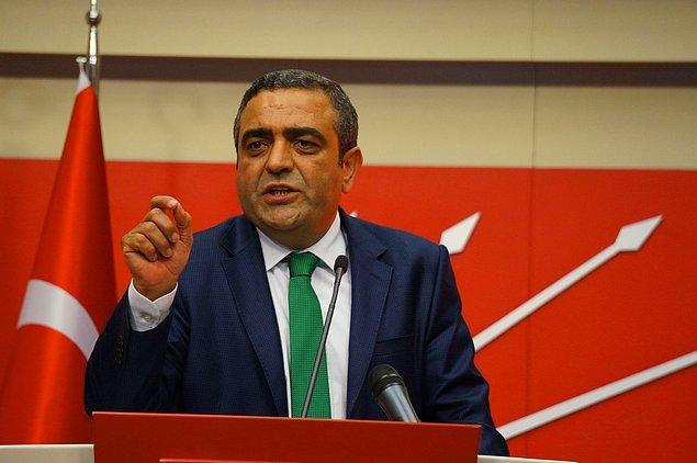 CHP Genel Başkan Yardımcısı Sezgin Tanrıkulu: 'Utanan, ne yapıyoruz diyen yok'