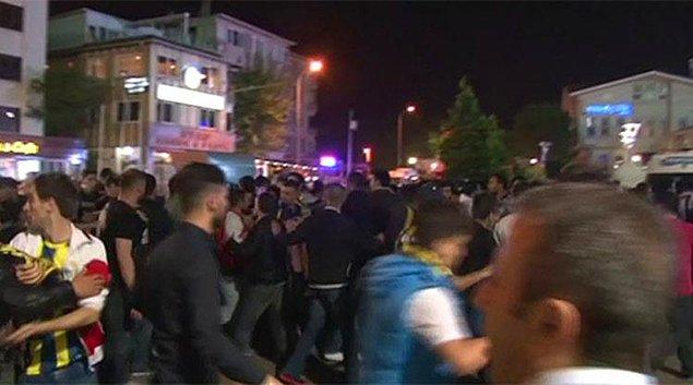 Maç Sonu Kadıköy'de Gerginlik