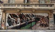 Dünya'nın Dört Bir Köşesinden Sizi Uzun Uzun Düşündürecek Duvar Sanatı Örnekleri (www.veggistanbul.com)