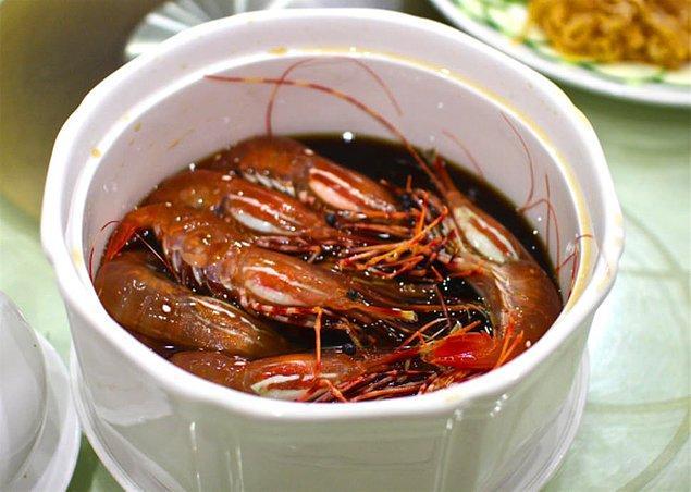 Çiğ karides - Çin