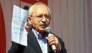 Kılıçdaroğlu, Polisin İtiraf Mektubunu Açıkladı