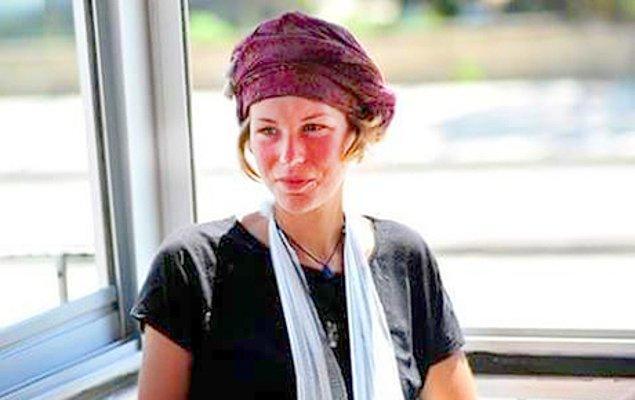 2. Dünyayı yürüyerek gezen 28 yaşındaki Hollandalı Jiska Nina Van Gerner, Türkiye'de tacize uğradı.