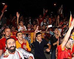 Beşiktaşlı Taraftarlar Galatasaraylıları Denize Attı