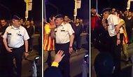 Galatasaray Taraftarları Belçika Gent'te Polise Üçlü Çektirdi