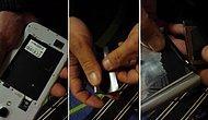Samsung Bataryasındaki Dinleme Cihazını Bulduğunu İddia Eden Adam