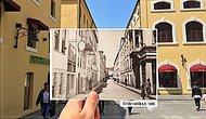 Eski Fotoğrafları Günümüz Halleriyle Birleştirip Samsun'da Zaman Yolculuğu Yaptıran 25 Kare