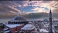 mimar sinanın minarelerinden İstanbul'da 4 Mevsim.