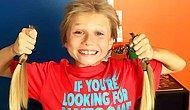 Kanser Hastası Çocuklara, Uzattığı Saçlarını Bağışlayan 8 Yaşındaki Delikanlı: Christian McPhilamy