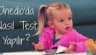 Onedio'da Nasıl Test Yapılır?