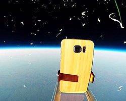 Samsung Galaxy S6 Uzaydan Dünya'ya Bırakıldı