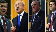Parti Liderlerinin Burçlarına Göre, 4 Partinin Birbiriyle Koalisyona Girme İhtimalleri