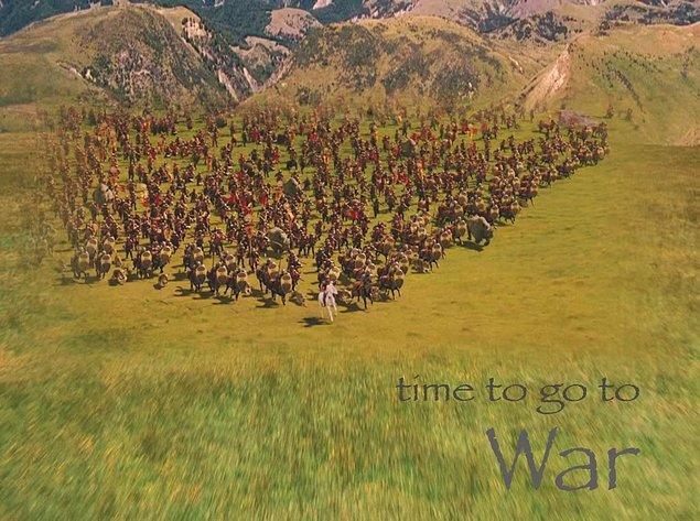 7. Narnia'da savaşlar da vardır elbette.