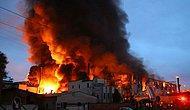 Kocaeli'de Kimya Deposunda Patlama: 3 Tesis Yandı