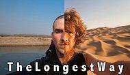 Bir yılda 4500 kilometre yürüyen gezginin yüzündeki değişimler