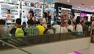 21 Karede Kadınları Alışveriş Esnasında Bekleyen Perişan ve Zavallı Erkekler