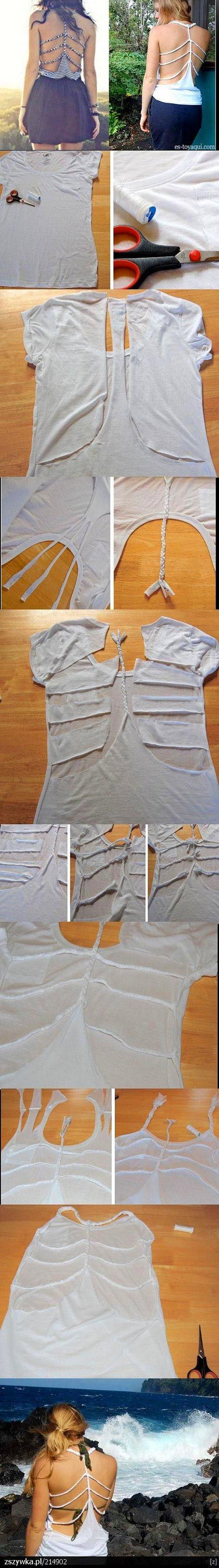 Tişörtünüzü Askılı Yapmanın Yolu