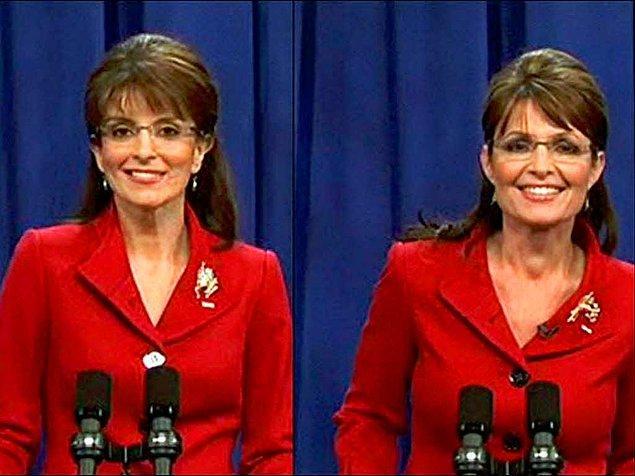 6. Tina Fey & Sarah Palin