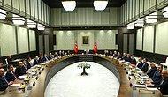 Erdoğan Başkanlığındaki Bakanlar Kurulu Sona Erdi