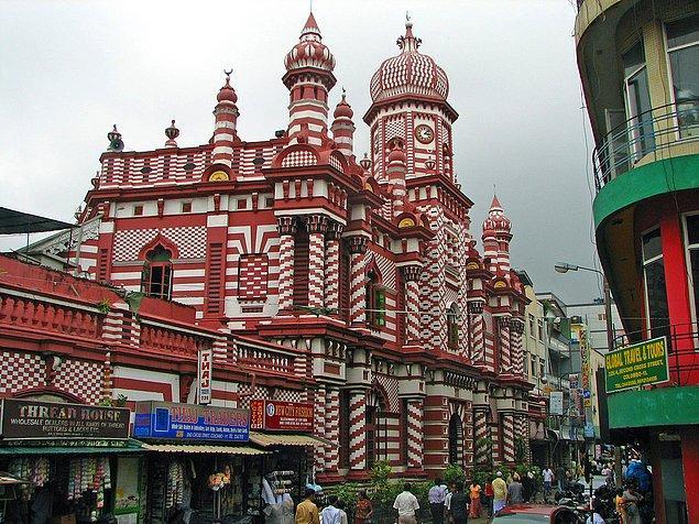 46. Ul - Alfar Camii,  Kolombo, Sri Lanka