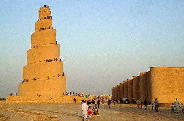 52. Büyük Samarra Camii, Samarra, Irak