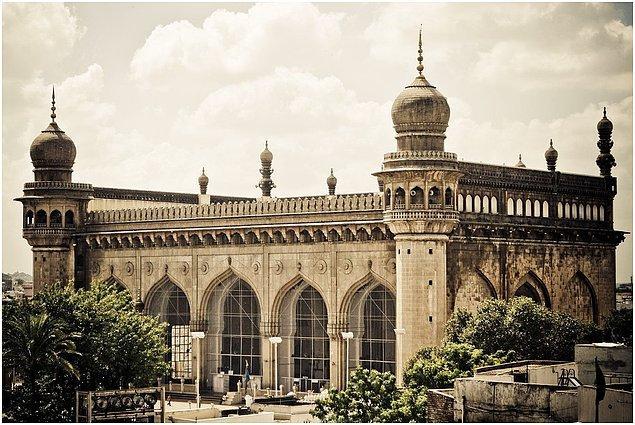 25. Mekke Camii, Haydarabad, Hindistan
