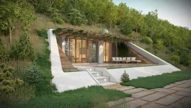 Sivas a 39 hobbit k y 39 kuruluyormu for How to build a house in a mountain