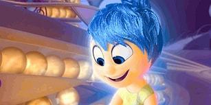 """Pixar'ın 2015 Bombası """"Ters Yüz"""" Animasyonu Hakkında 18 Dikkat Çekici Bilgi"""