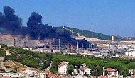 Tüpraş'ta Korkutan Yangın