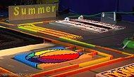 500.000 Domino Taşını Devirerek Yapılmış Muhteşem Bir Görsel Show