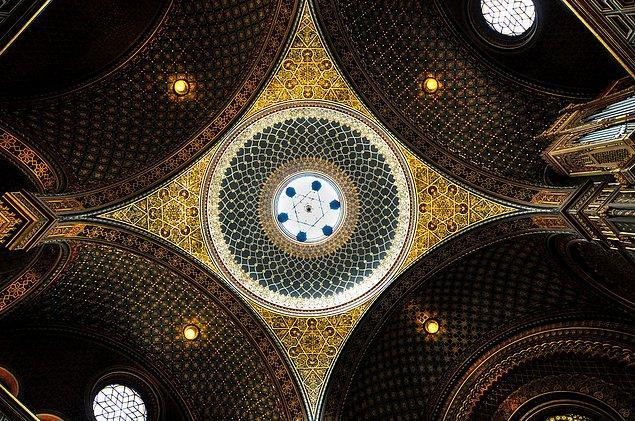 9. İspanyol Sinagogu; Prag, Çek Cumhuriyeti