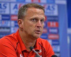 """van den Brom: """"Rakibimiz çok iyi bir ekip"""""""