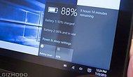 Windows 10'un Pil Ömrü Daha mı Uzun?