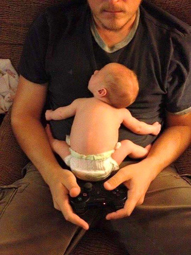 1. 'Ne oynuyorsun baba yaaa'
