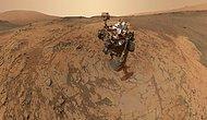 3 Yıldır Mars Görevinde Olan Kaşif Robotu Curiosity'nin Gönderdiği Fotoğraflar