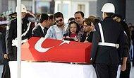 Şehit Polis Müdürü Çeken Son Yolculuğuna Uğurlandı
