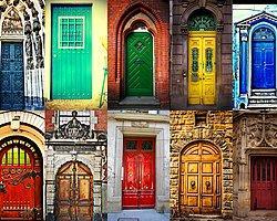 Avrupa'da Bulunan En İlginç 30 Kapı Fotoğrafı