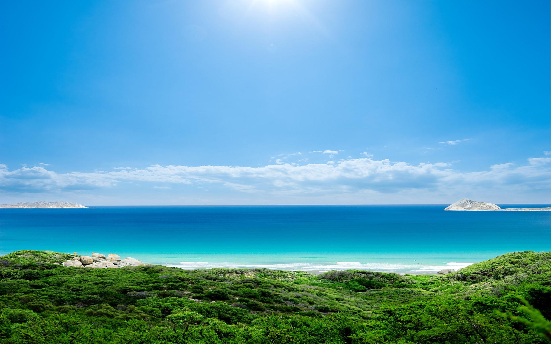 wallpapers sunny beach #11