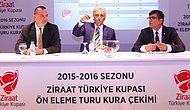 Ziraat Türkiye Kupasında Kuralar Çekildi