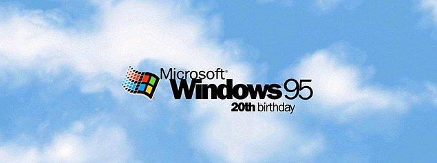10. Windows 95 20. Yılını Kutluyor