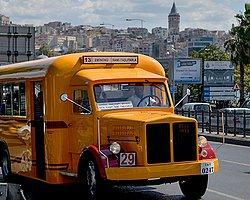 İETT 2. Dünya Savaşı'nda İstanbul'da toplu taşıma aracı olarak kullanılan Scania Vabis otobüsünü yeniden üretti.
