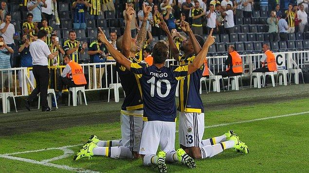 Karşılaşma sona erdi.   Fenerbahçe 3-0 Atromitos
