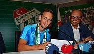 Bursaspor, Tom De Sutter ile 3 Yıllık Sözleşme İmzaladı